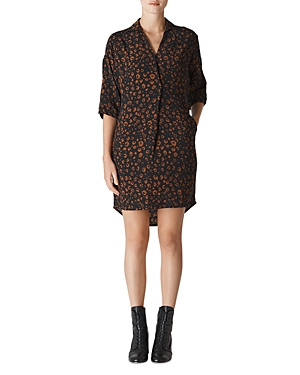 Whistles Lola Cheetah-Print Dress