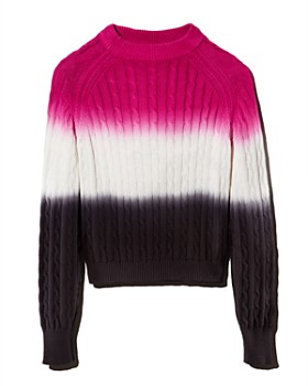 Veda - Crema Dip-Dyed Cable Sweater