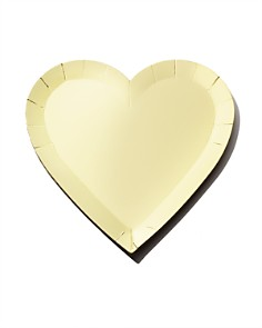 Meri Meri - Small Gold Heart Plates