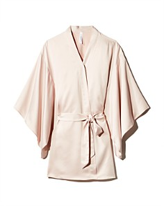 Flora Nikrooz - April Charmeuse Kimono-Sleeve Robe