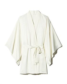 18d1589dbf2 Flora Nikrooz - April Charmeuse Kimono-Sleeve Robe ...