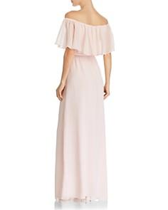 WAYF - Charlotte Off-the-Shoulder Popover Maxi Dress