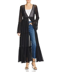 Band of Gypsies - Lucia Sheer Duster Jacket