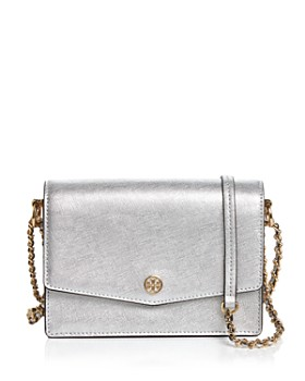 Tory Burch - Robinson Mini Metallic Convertible Shoulder Bag