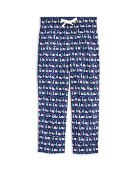 Vineyard Vines - Boys' Santa Whale Pajama Pants - Little Kid, Big Kid