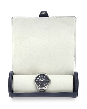ROYCE New York - Leather Travel Watch Roll