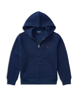 Boys' Fleece Zip Up Hoodie   Big Kid by Polo Ralph Lauren