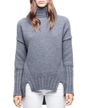 Zadig & Voltaire - Alma Deluxe Cashmere Turtleneck Sweater