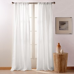 "DKNY - PURE City Linen 108"" x 50"" Window Panel, Pair"