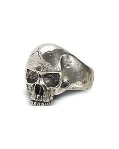 John Varvatos Collection - Sterling Silver Skull Ring