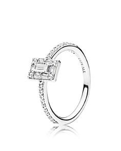 PANDORA - Sterling Silver & Cubic Zirconia Luminous Ice Ring