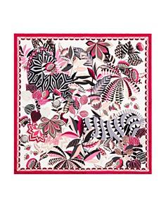Salvatore Ferragamo - Malawi Floral Print Silk Scarf