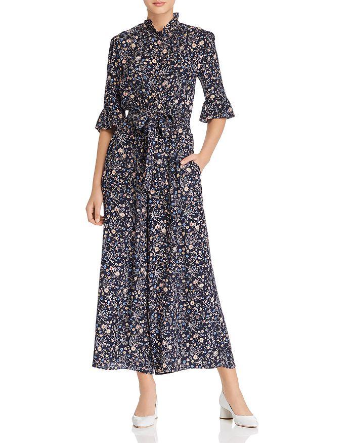 090b6eef69 Rebecca Taylor - Vivianna Floral-Printed Silk Jumpsuit