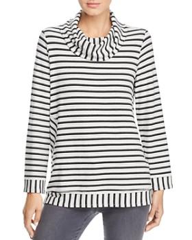 1600315e5bc1f9 Kim   Cami - Cowl Neck Stripe Tunic ...