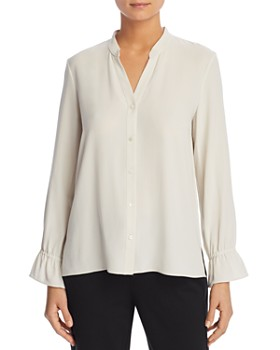 Eileen Fisher - Silk Button-Down Blouse