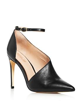 Rachel Zoe - Women's Skylar Ankle-Strap Pointed-Toe Pumps