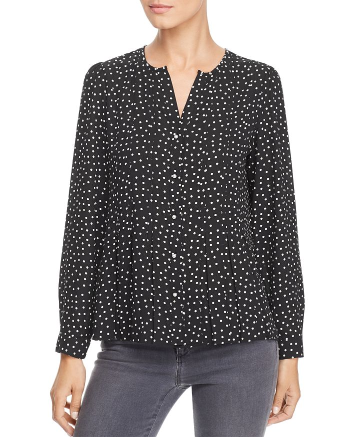 KARL LAGERFELD Paris - Embellished Polka Dot Shirt