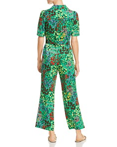 SJYP - Floral-Print Wide-Leg Jumpsuit