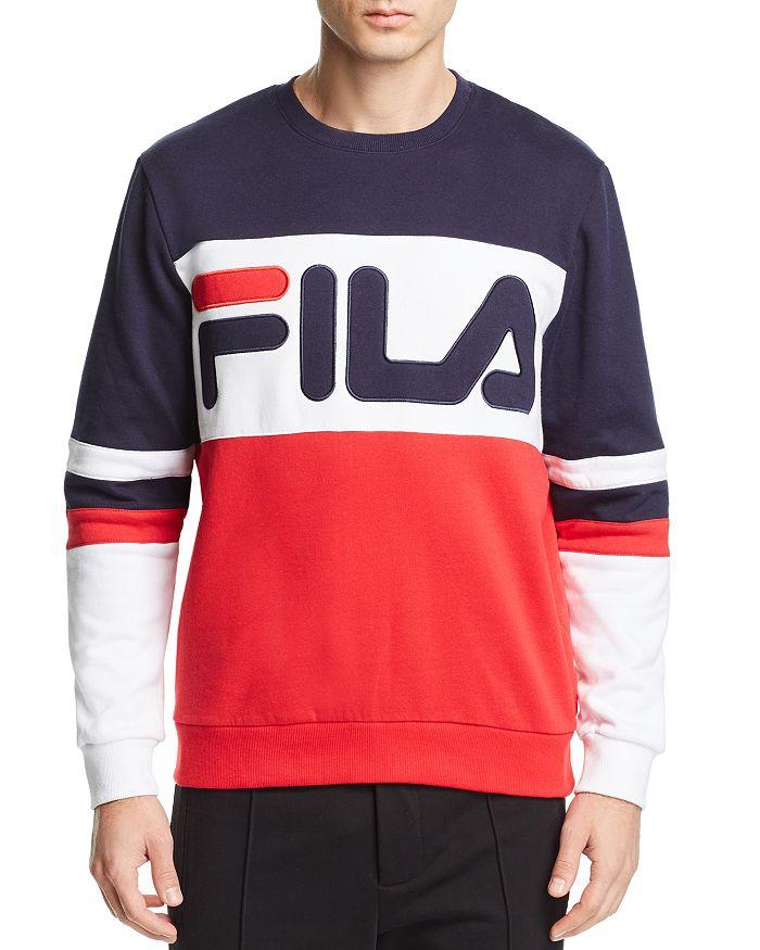 ec366c1e6866 FILA Freddie Color-Block Logo Sweatshirt | Bloomingdale's