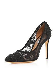 Charles David - Women's Chaser Embroidered Mesh Pumps