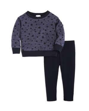 Splendid Girls' Star Sweatshirt & Leggings Set - Baby