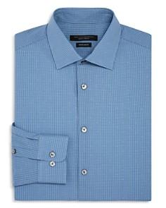 John Varvatos Star USA - Micro-Gingham Regular Fit Dress Shirt