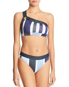 Mei L'ange - Valentina One-Shoulder Bikini Top & High-Waist Bikini Bottom