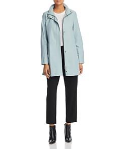 Eileen Fisher Petites - Hidden Hood Rain Jacket