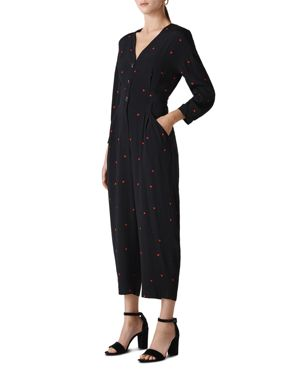 Whistles Heart Print Jumpsuit