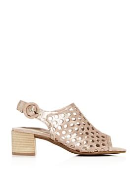 Paul Green - Women's Tico Perforated Block-Heel Sandals