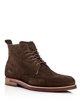 0e1c16cd81531 Ted Baker - Men s Shennjo Suede Brogue Wingtip Boots ...
