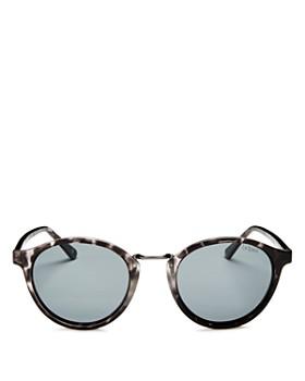 Le Specs - Men s Paradox Polarized Round Sunglasses, ... 58a2f7208bf2