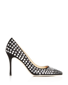 Sergio Rossi - Women's Stoned Pointed-Toe Pumps