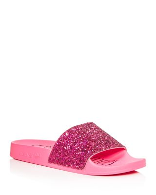 Adilette Glitter Slide Sandals