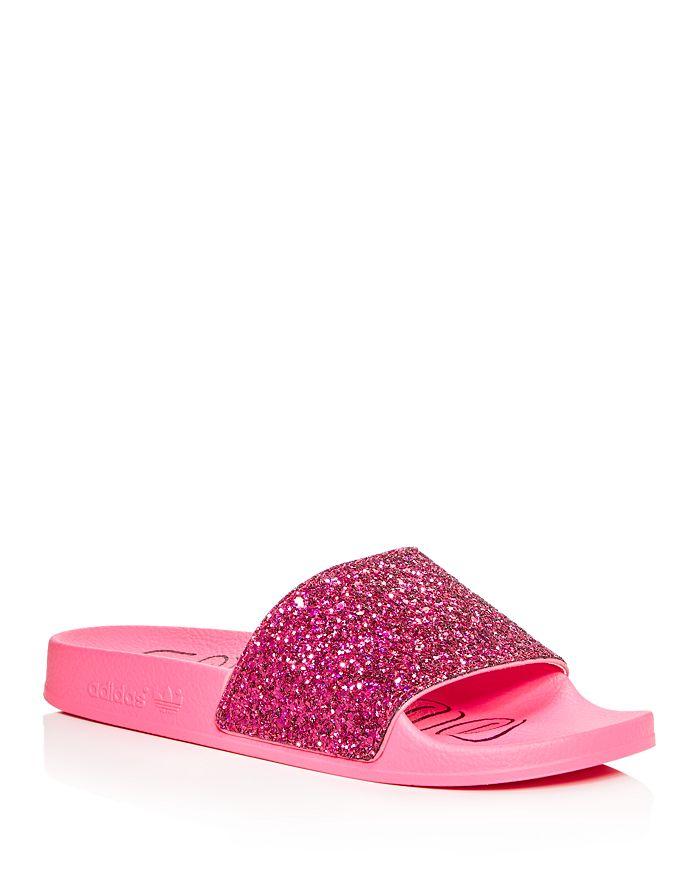 Adidas - Women's Adilette Striped Slide Sandals