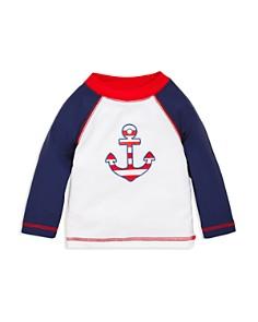 Little Me - Boys' Anchor Rash Guard Top - Baby