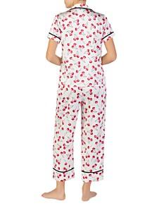 kate spade new york - Cherry Print Short Sleeve Pajama Set