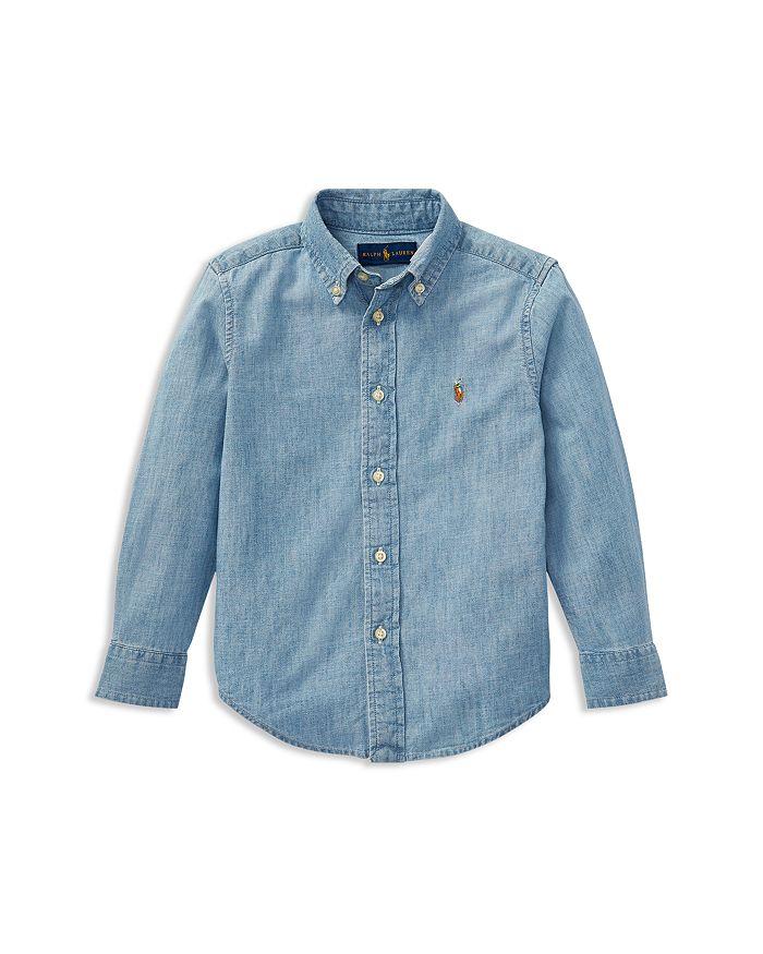 Ralph Lauren - Boys' Chambray Button-Down Shirt - Little Kid