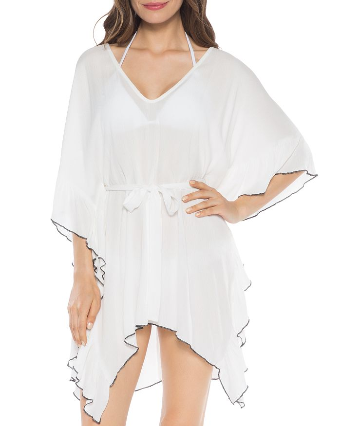 ISABELLA ROSE - Crinkle Time Tunic Swim Cover-Up