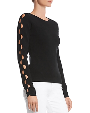 Bailey 44 Love At First Sight Cutout-Sleeve Sweater