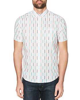 Original Penguin - Vertical Stripe Regular Fit Shirt
