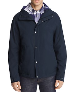 Barbour - Noden Hooded Waterproof Jacket - 100% Exclusive