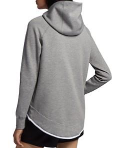 Nike - Asymmetric Fleece Hoodie