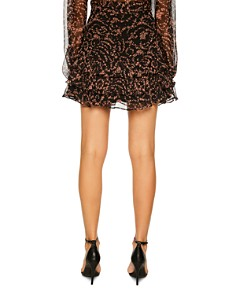 Bardot - Rah Rah Ruffled Floral Mini Skirt