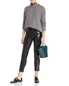 Loeffler Randall - Agnes Croc-Embossed Leather Tote