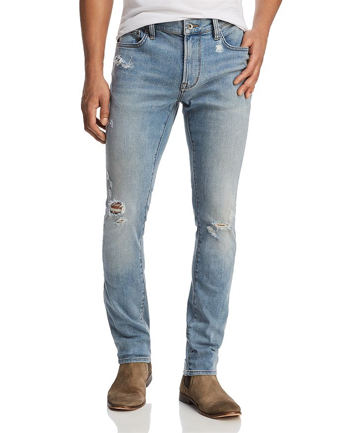 John Varvatos Star USA - Wight Skinny Fit Jeans in Atlantic Blue - 100% Exclusive