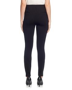 T Tahari - Side Zipper Pinstripe Legging Pants