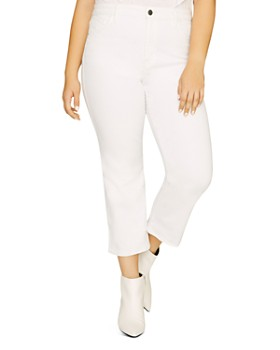 8a03642e38158 Sanctuary Curve - Modern High-Rise Straight-Leg Jeans in Angeleno White ...