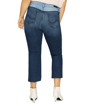 Sanctuary Curve - Modern Standard Straight-Leg Jeans in Noho Arts