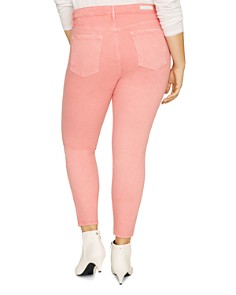 Sanctuary Curve - Social Standard Ankle Jeans in Dark Pink Fizz